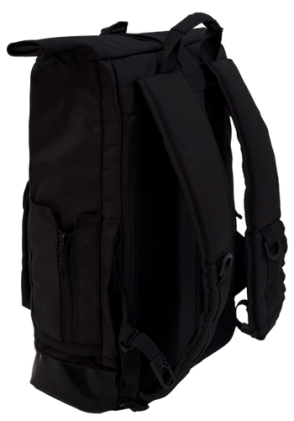 Backpack Rolltop City (Black)