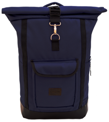 Backpack Rolltop City (Dark Blue)