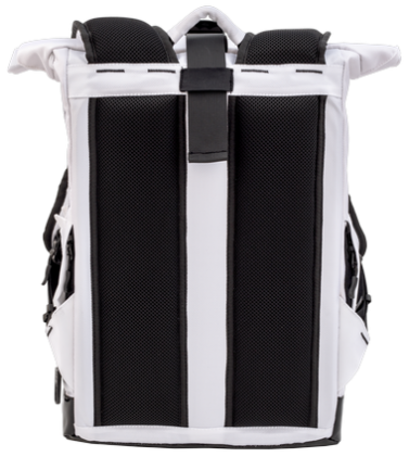 Backpack Rolltop City (White)