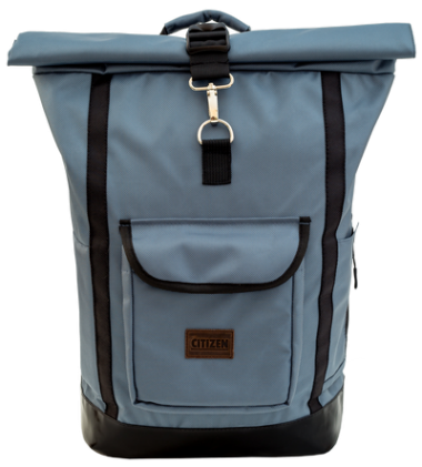 Backpack Rolltop City (Gray)